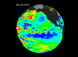 NASA Image of La Nina, December 2010
