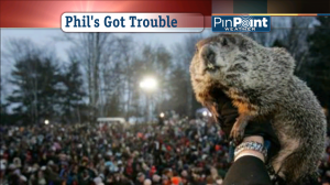 Punxsutawney Phil in less stormy years