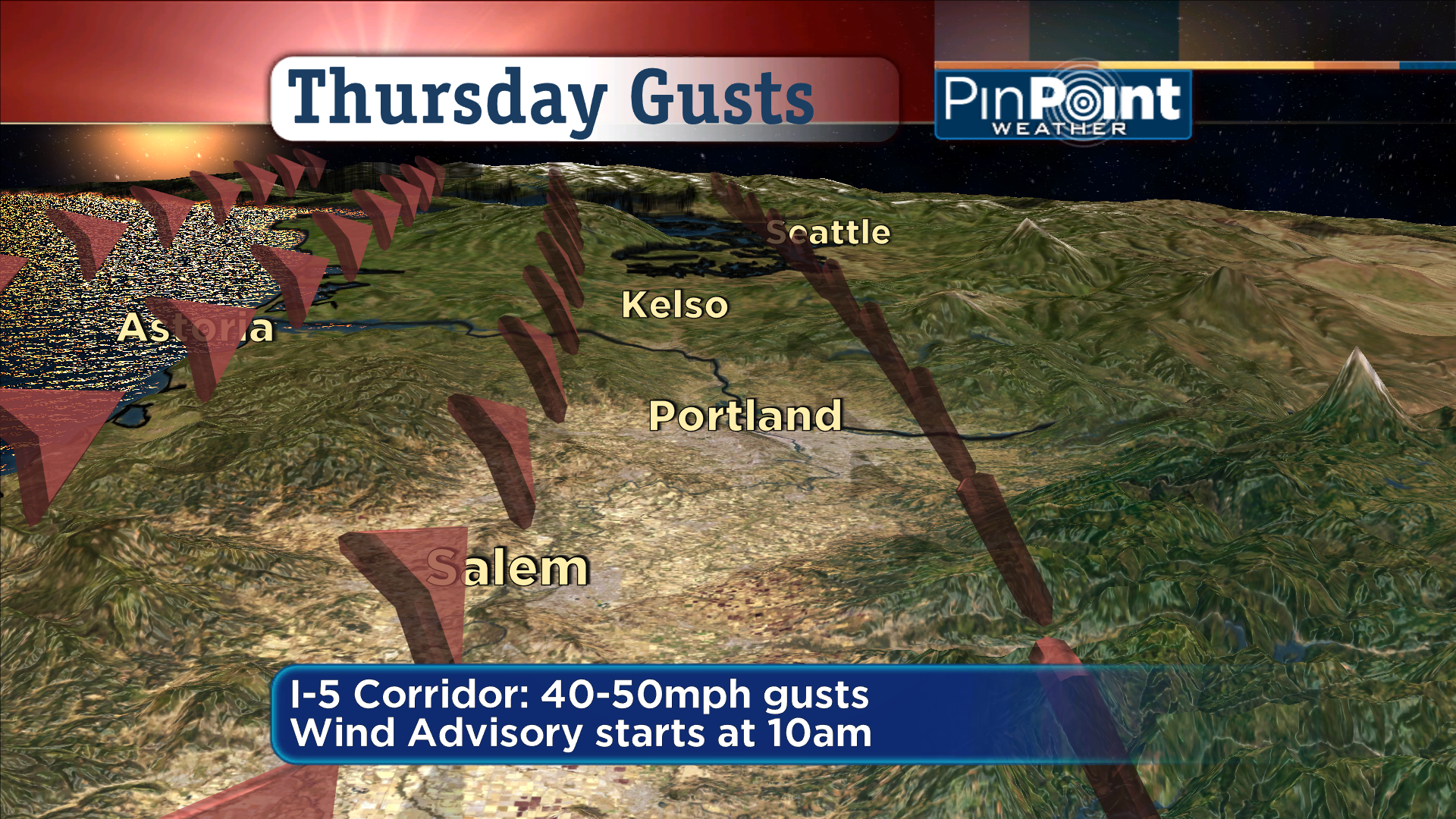 Bad Hair Day For The Northwest – Wind Warnings, Advisories In Place