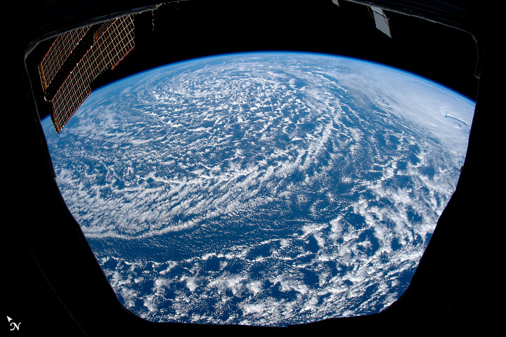 Northwest Storms – How They Look From Space