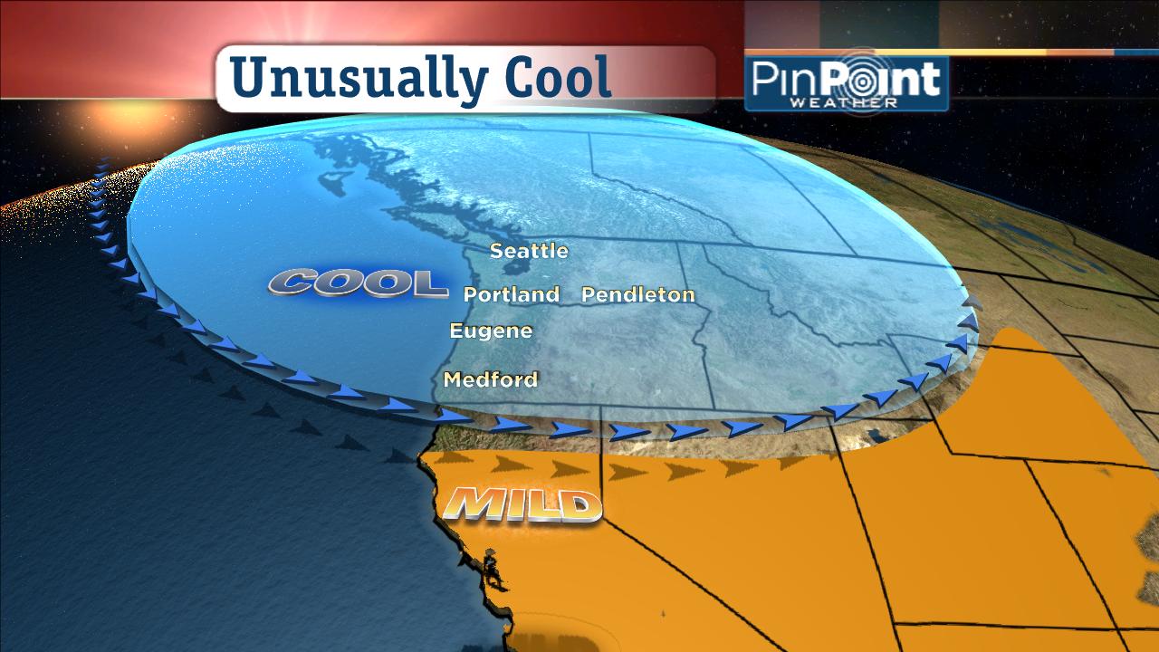 Portland In April: Record Breaking Cold