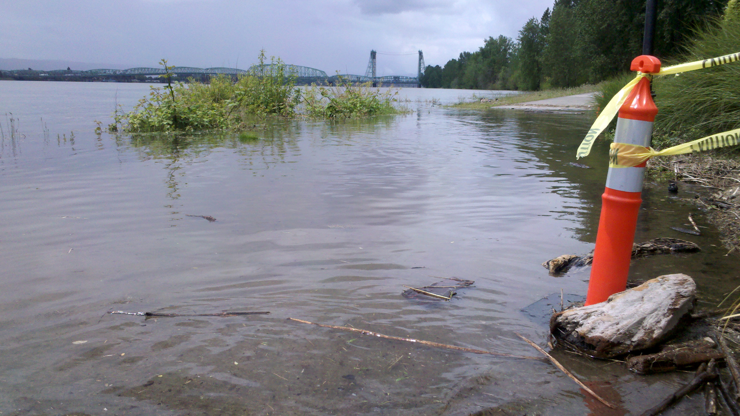 Columbia River Hits Flood Stage, Expect More Bridge Lifts Between Portland and Vancouver