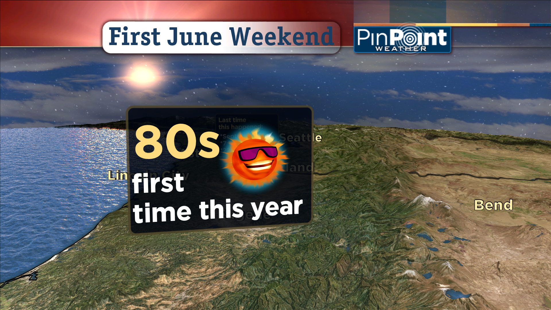 Crazy High Temperatures At The Oregon Coast And Portlands First 80 Degree Day Of The Year