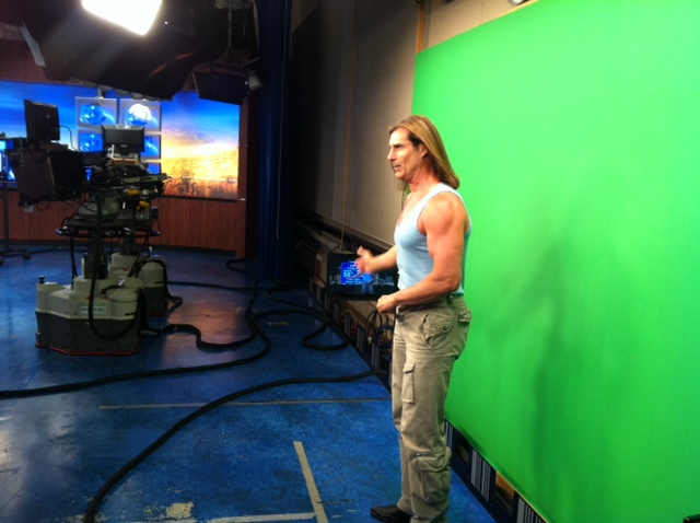 Fabio Doing The Weather: I Taught Him All He Knows