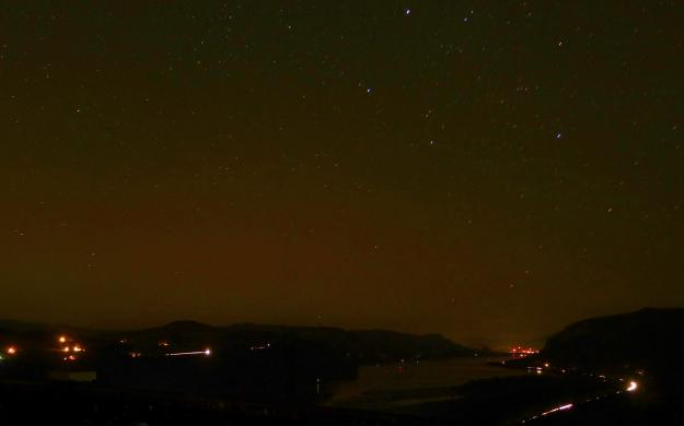 Northern Lights Spotted Near Portland, Oregon