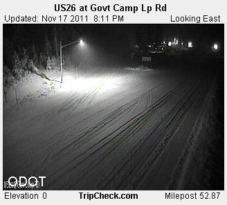 Willamette Valley Low Elevation Snow Chances Update
