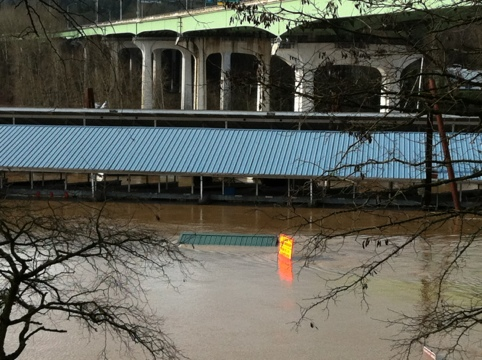 Blogging From Along The Flooding Willamette River