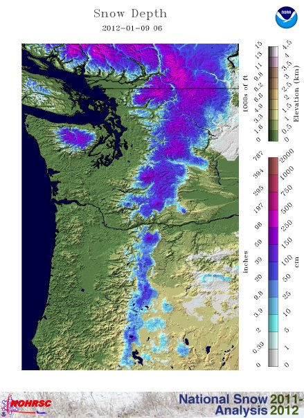 Dreaming Of Northwest Snow? So Is The Rest Of The U.S.