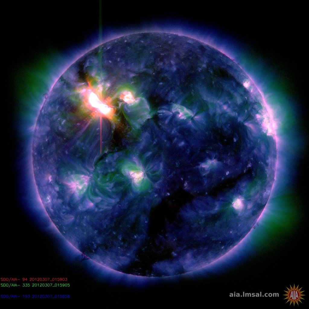 Solar Flare From Sun Leads To Solar Storm On Earth ...