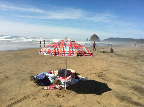 Live Blog From Cannon Beach, Oregon