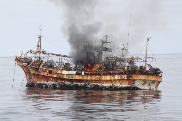 Coast Guard Sinks Tsunami Ghost Ship Off Of Alaska