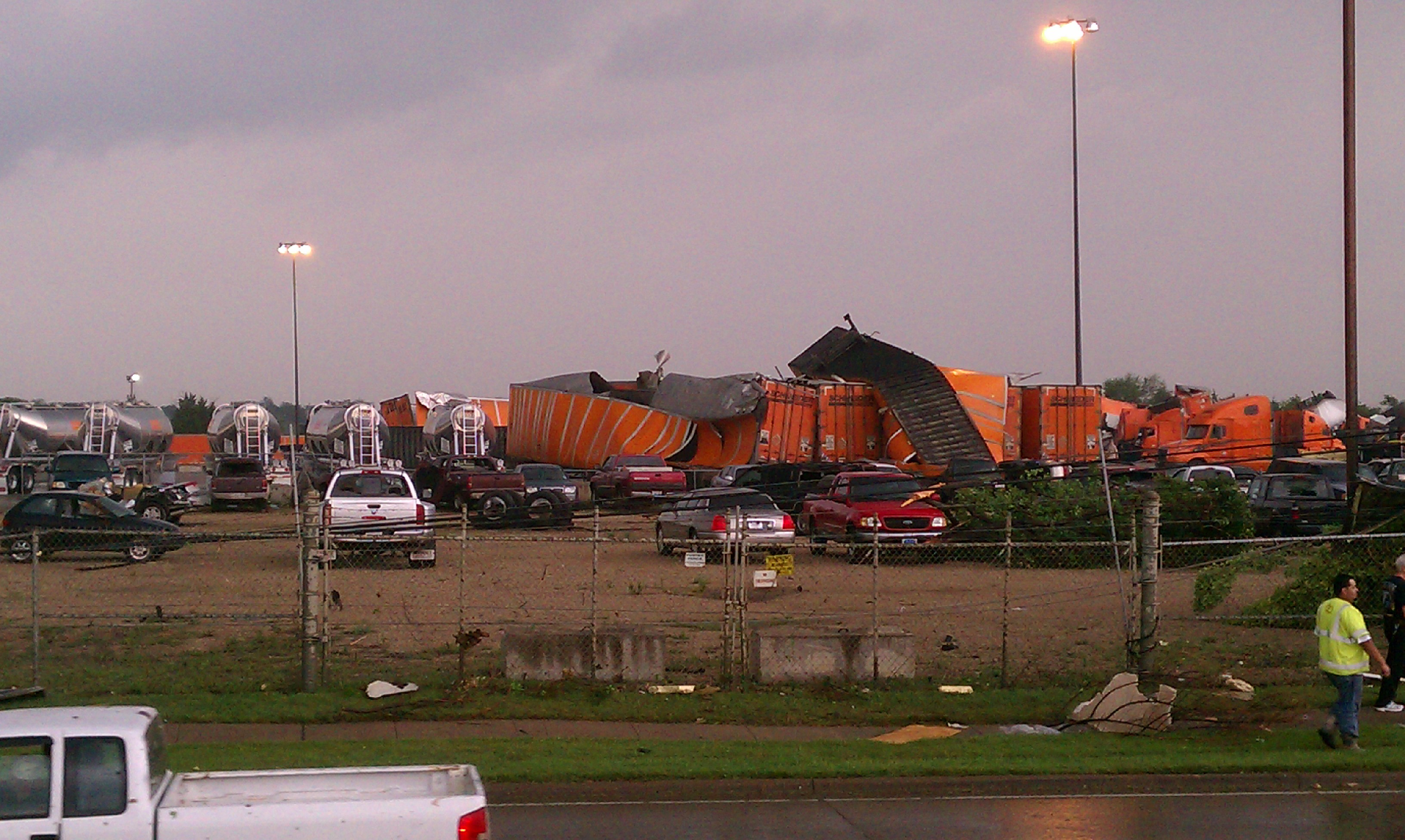 Tornadoes Hit Dallas, Texas, Metro Area