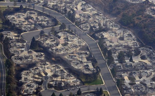 Colorado Springs: Pictures Of Neighborhoods Before And After The Wildfire