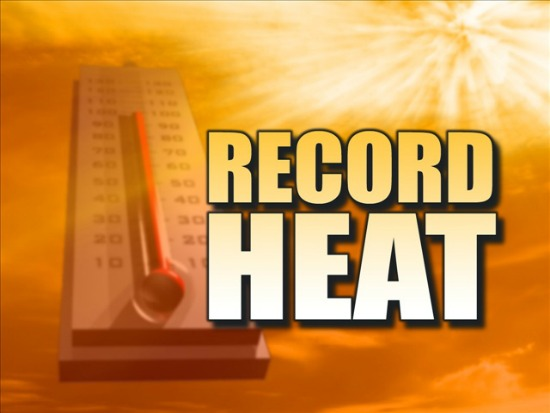 Sudden Sizzle: Willamette Valley 100s, New Records, Amazing Oregon Coast Heat