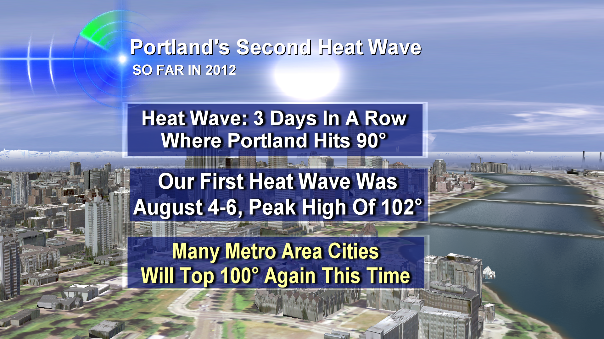 Incoming: Another Northwest Heat Wave, 100s Possible
