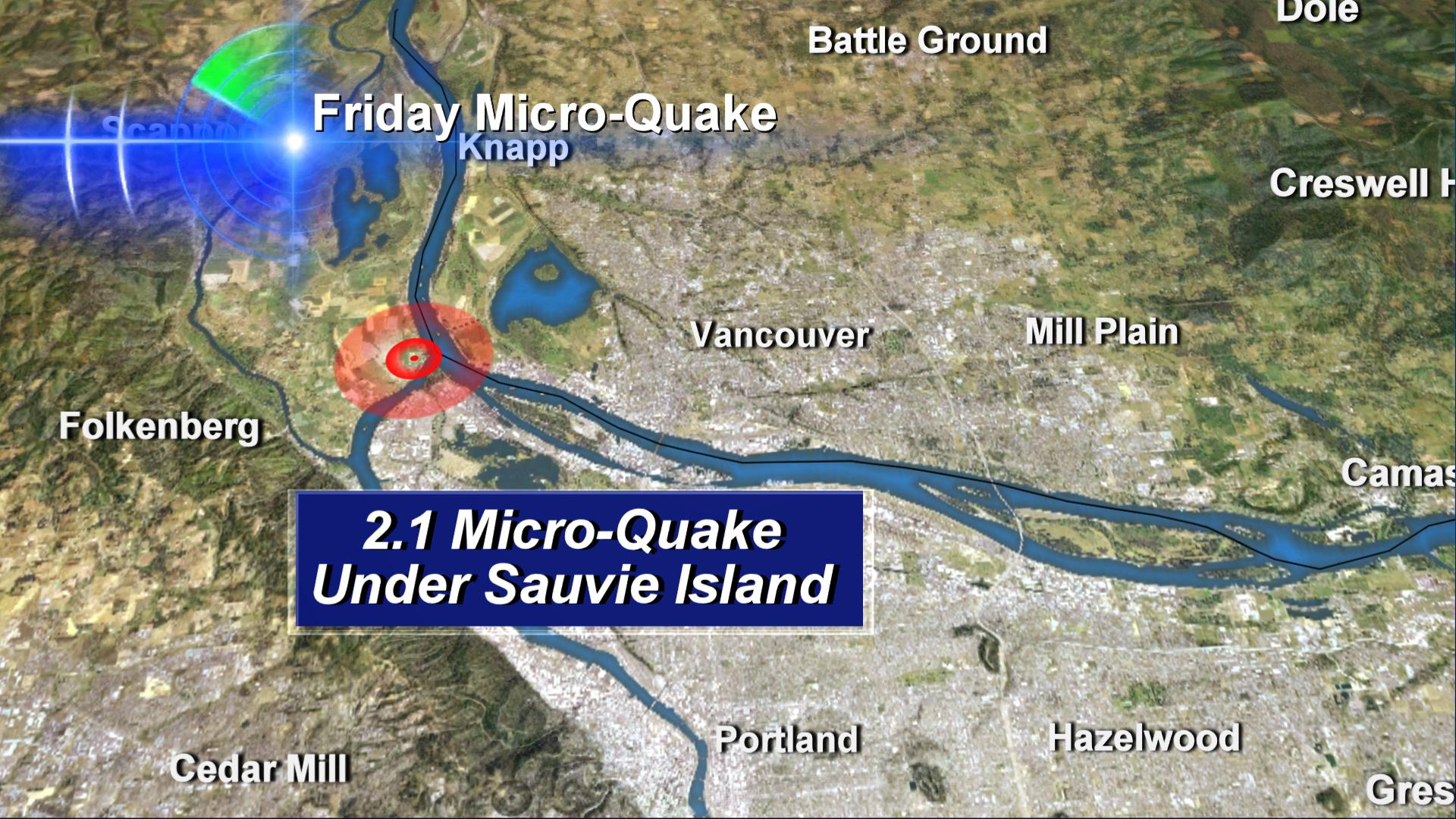 Medium Sized Earthquakes In Oregon & Washington: Eerily Quiet
