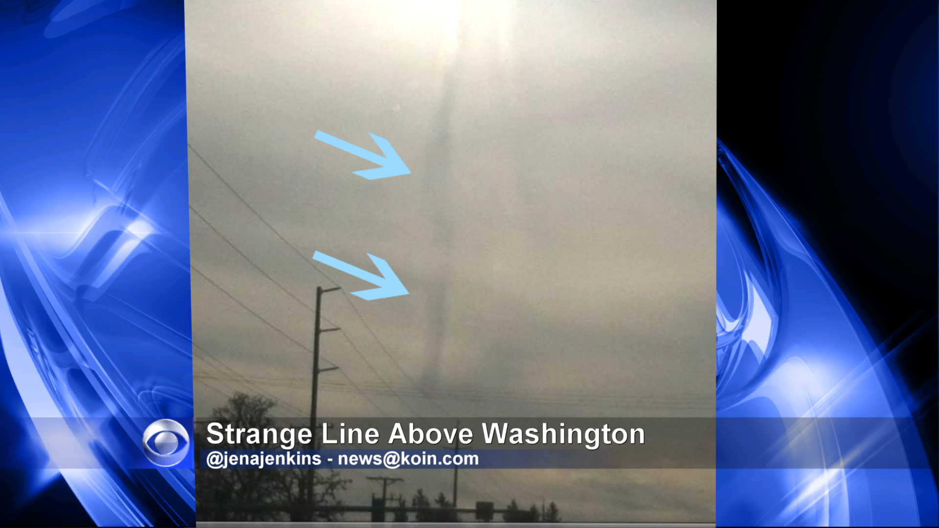 Something Strange Looking In Skies Above Oregon & Washington