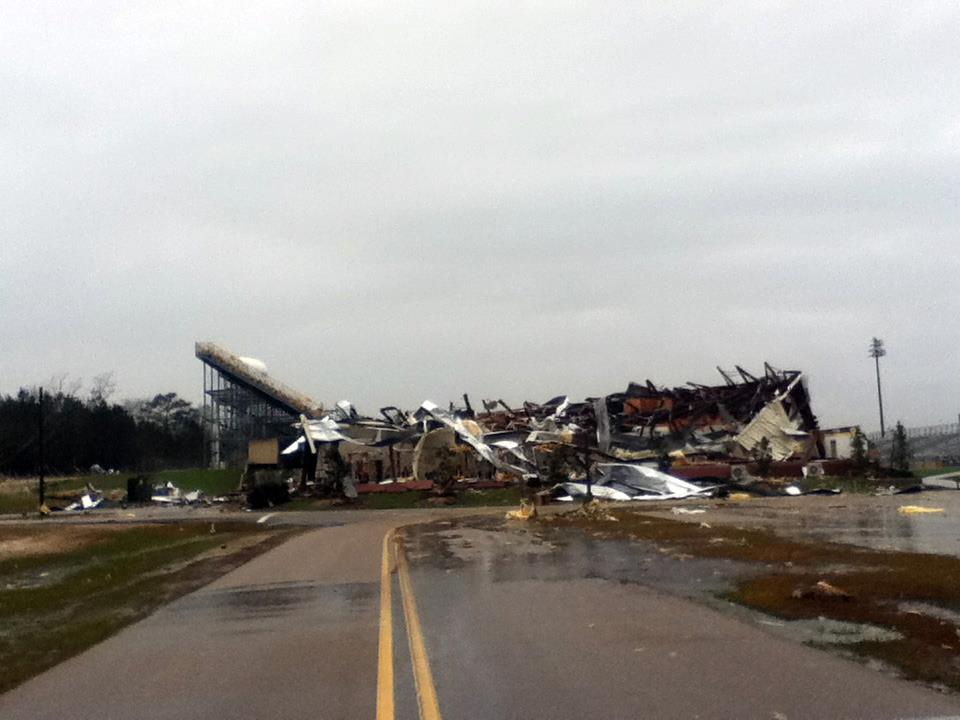 First EF-4 Tornado Of 2013 Touches Down In The Southern U.S.
