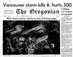 The Deadliest Tornado That Ever Hit Portland And Vancouver