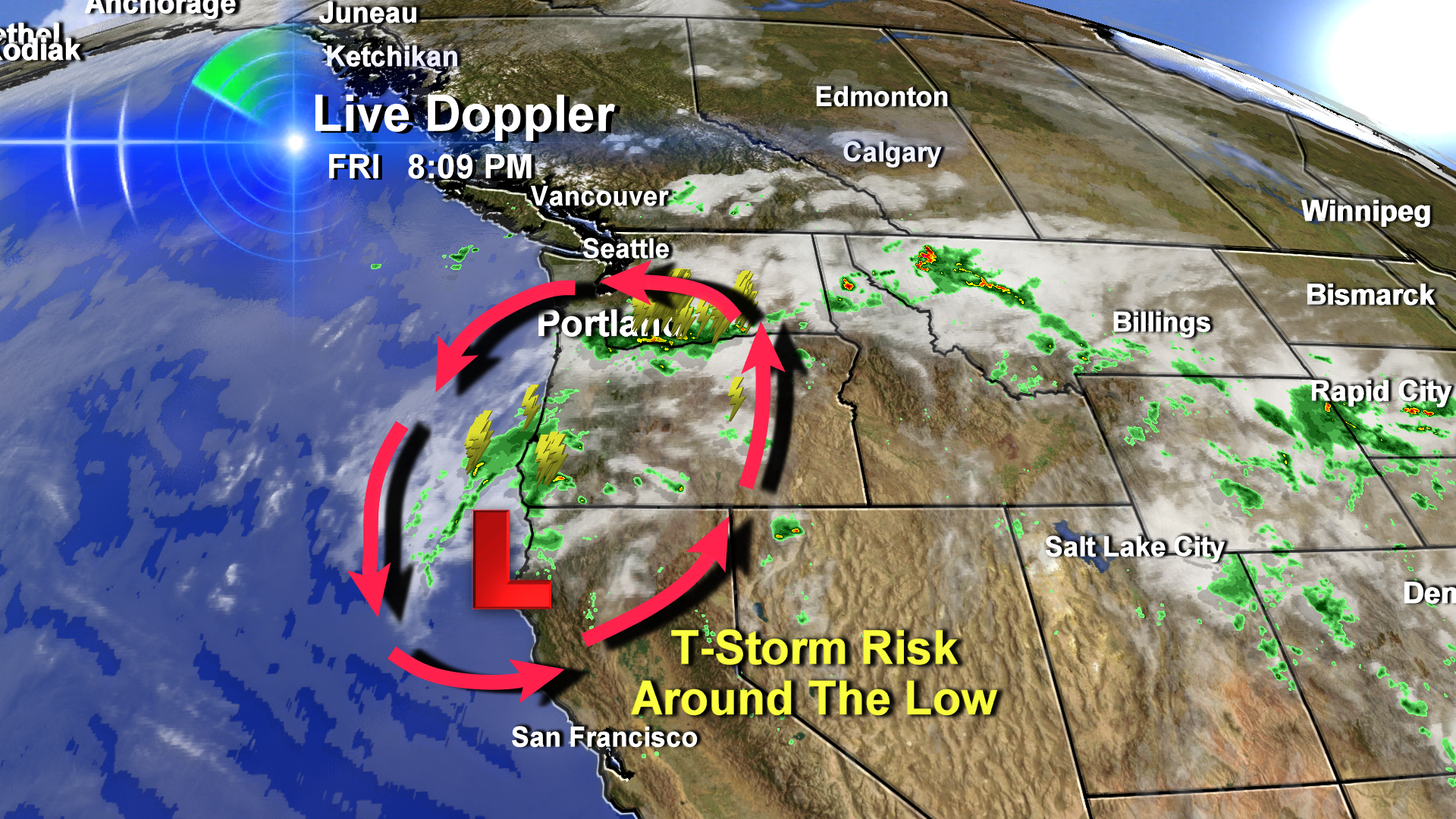 Thunderstorms Create Oregon's Biggest Lightning Day Of 2013