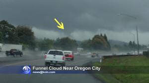 Gladstone Funnel Cloud Picture