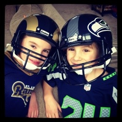 Seattle Seahawks VS. St. Louis Rams