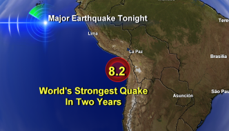 worlds-strongest-quake in two years