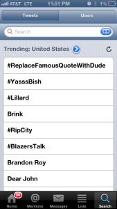 United States: Lillard #3 Trend