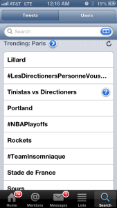 Paris, France: Lillard #1 Trend