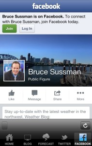 bruce sussman weather Facebook