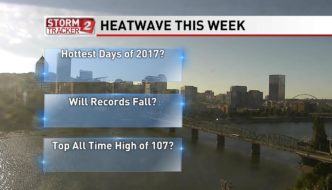 Heatwave Ahead to Make a Run at Portland's All Time High Temperature