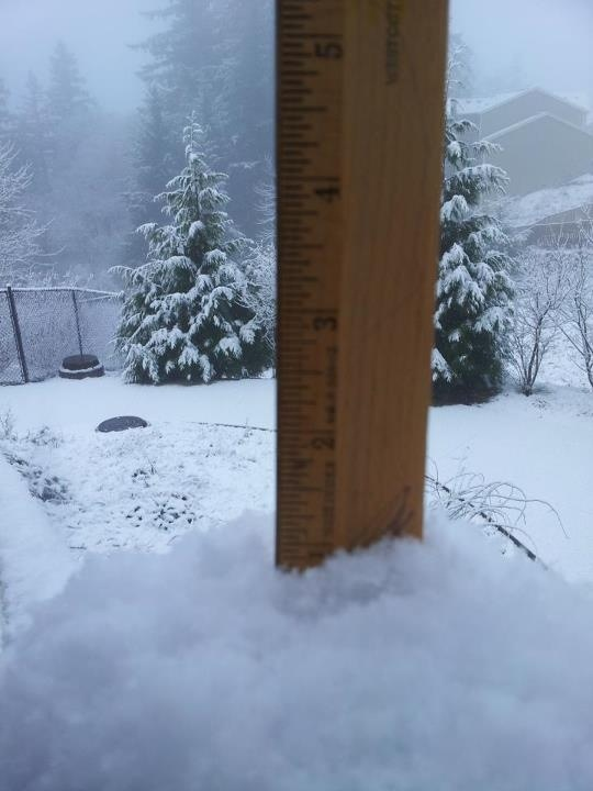 Another Snow Tease Hits Portland Area